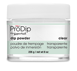 Clear Dipping Powder (8oz) - Gina Beauté