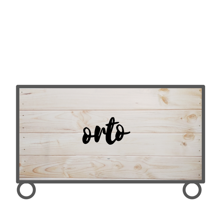 Orto Rustic Basic Package | Planter Box Only