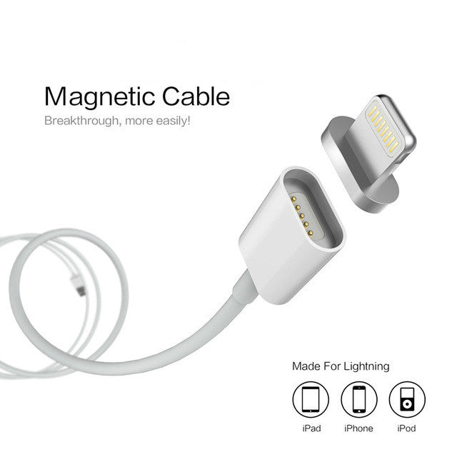Magnetic USB Charger For IPhone IPad And IPod