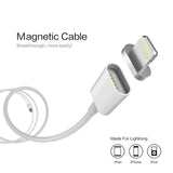 Magnetic USB Charger for iPhone, iPad and iPod.