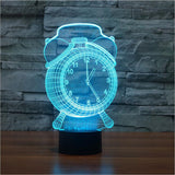3D Visual Alarm Clock LED