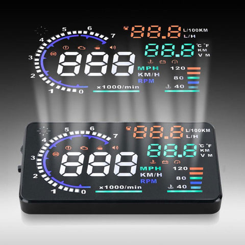 New A8 Multi-function Car HUD