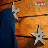 Original Metal Ninja Star Coat Hook