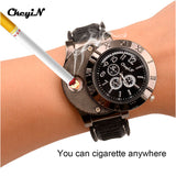 Electronic Lighter Usb Quartz Watch