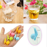 Cute Snail Tea Bag Holder 5 PCS