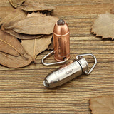 Stainless Steel Waterproof 45LM Keychain Flashlight