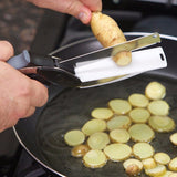 Clever Cutter 2 in 1 Kitchen Knife & Cutting Board