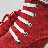 lazy no tie elastic silicone shoelace