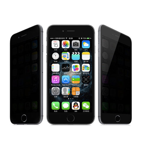 Tempered Anti Spy Glass Screen Protector for iphone