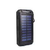 10000mAh Portable Solar Power Bank Dual USB