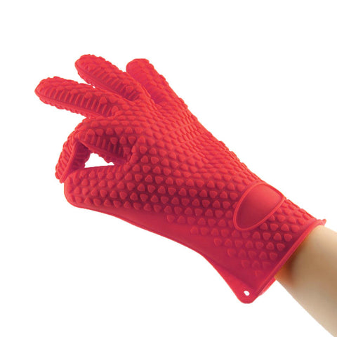 Silicone Glove Cooking Baking BBQ hand protector