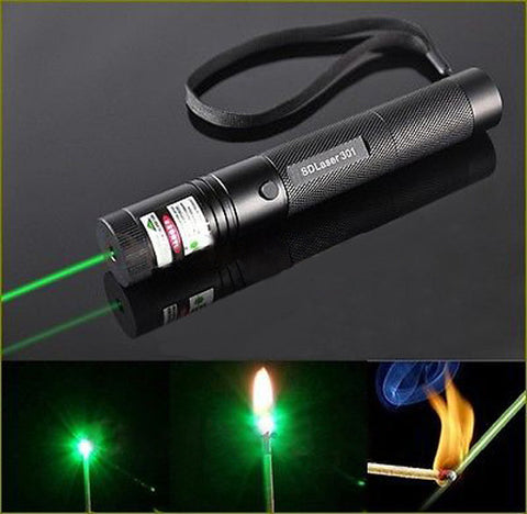 Military Green Burning Laser Pointer
