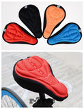 New Fashion Bicycle Saddle of Bicycle Parts Cycling Seat Mat Comfortable Cushion Soft Seat Cover For Bike Seat Cushion SS01
