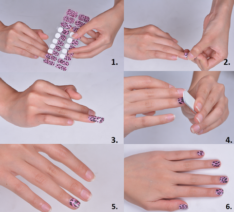 Nail Religion Instructions – How to apply nail wraps