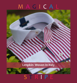 Z13. BEAKYJO- MAGICAL STRIPE & WHITE COLLAR
