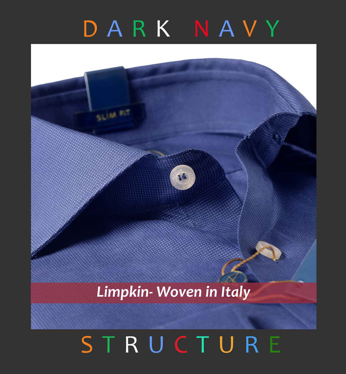 BRISTOL- DARK NAVY SOLID STRUCTURE