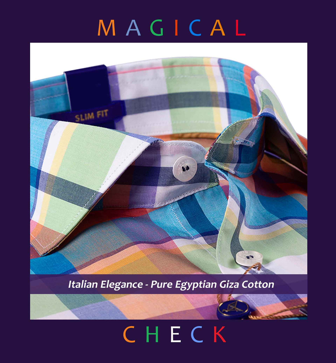 KIMBERLEY- MULTI COLOR MAGICAL CHECK