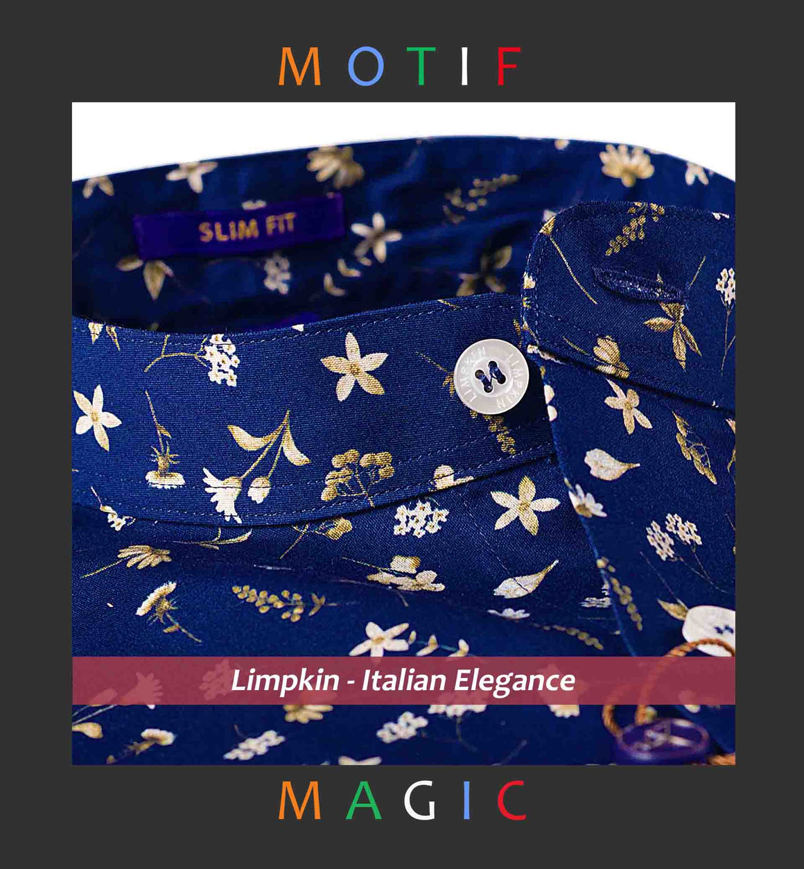 YANTAI- MAGICAL MOTIF PRINT IN MANDARIN