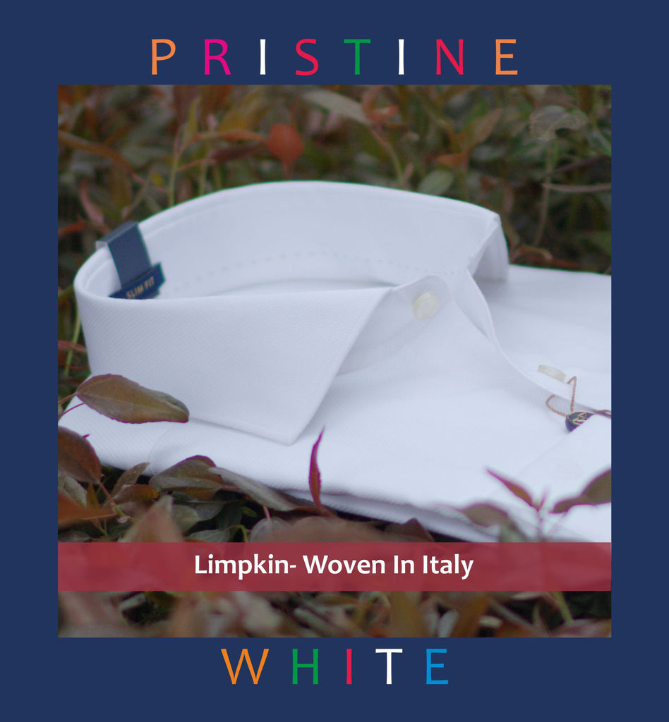 HUGIN- PRISTINE WHITE SHIRT- SLIM/REGULAR FIT