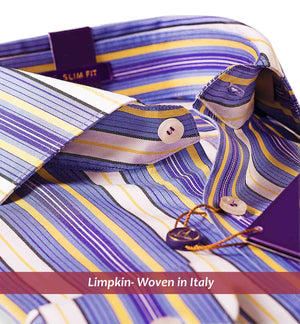 CANTERBURY- BLUE & YELLOW MAGICAL STRIPE- Delivery from 2nd Aug