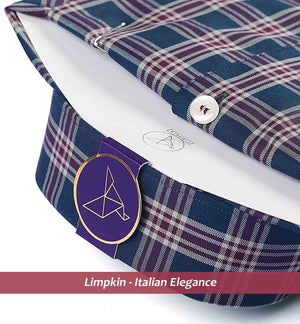 COLORADO- OLIVE & BURGUNDY FORMAL CHECK
