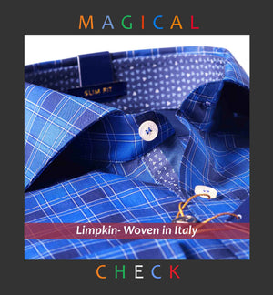Berlin- Magical Royal Blue Check