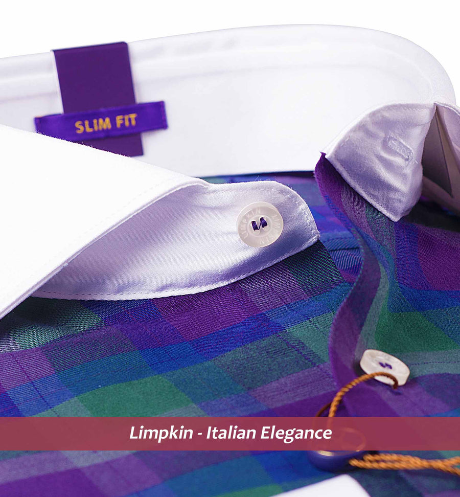 White Collar Shirts - Limpkin