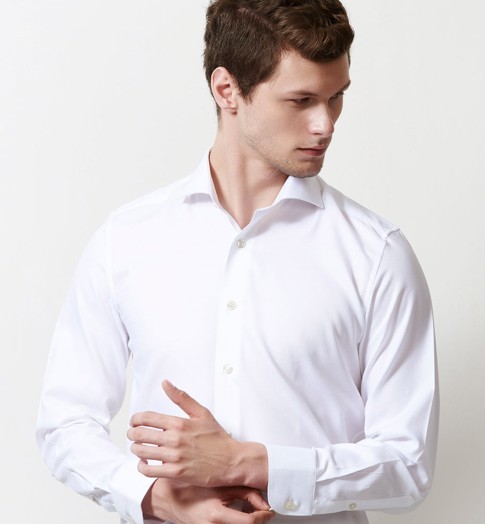 WHITE STRUCTURE Shirts - LIMPKIN