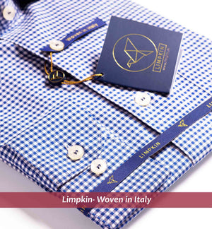 Helsinki- Navy & White Gingham Check