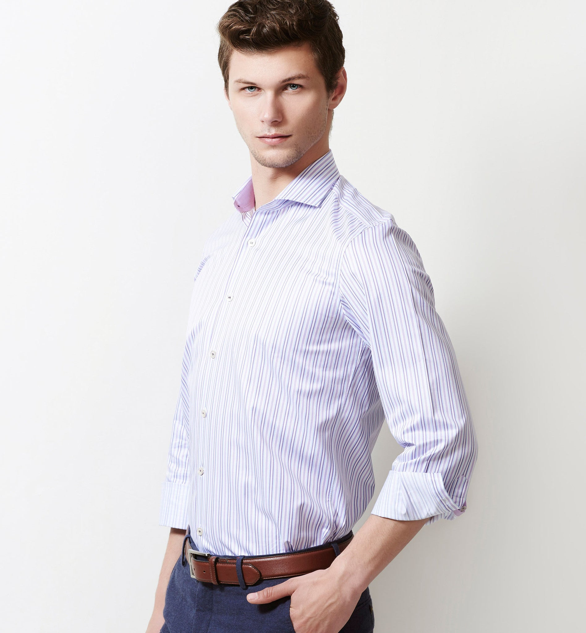 71eaf680 Stripe Shirts for Men- Buy online Premium Shirt in India-Limpkin Shirt