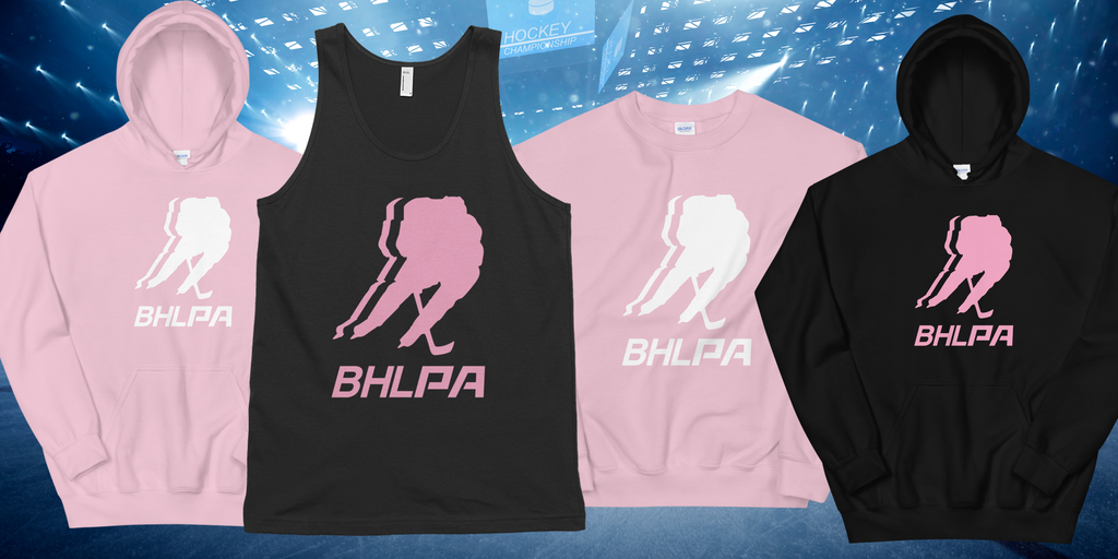 Introducing the BHLPA Pink Collection! All proceeds from September & October Pink sales go to charity!