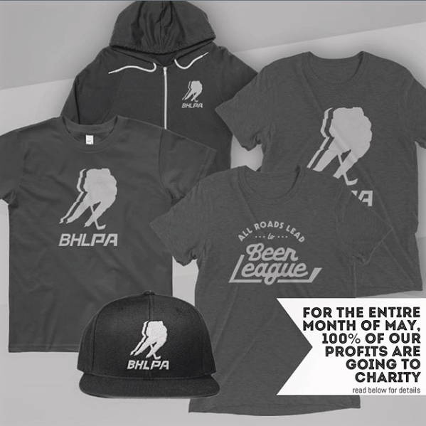 100% Of BHLPA Profits Go To Charity During The Month Of May!