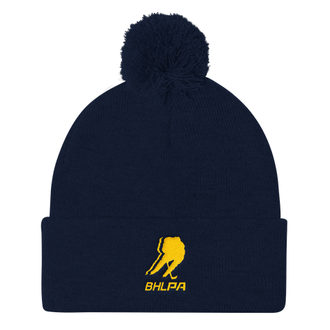 BHLPA Toque 2 (Navy/Yellow)