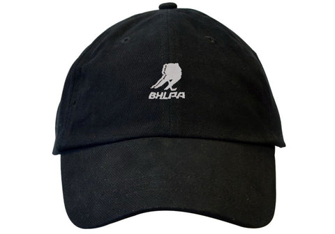 BHLPA Logo Dad Hat (Black)