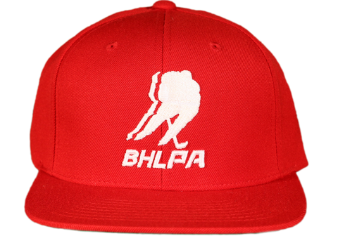 BHLPA Logo Hat (Red)