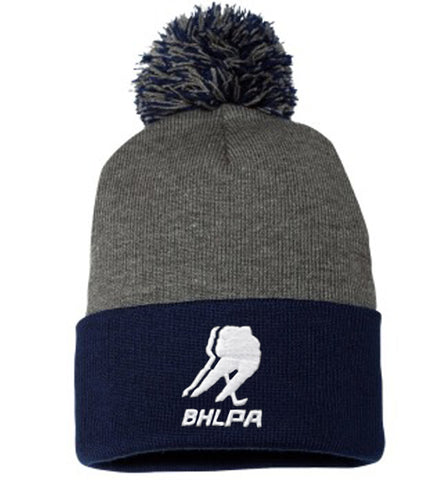BHLPA Toque (Gray/Navy)