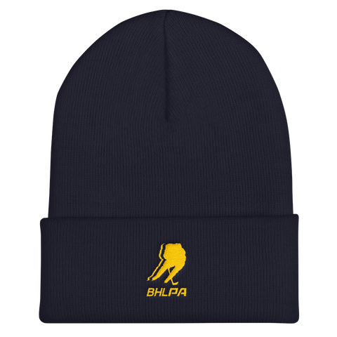 BHLPA Toque (Navy/Yellow)