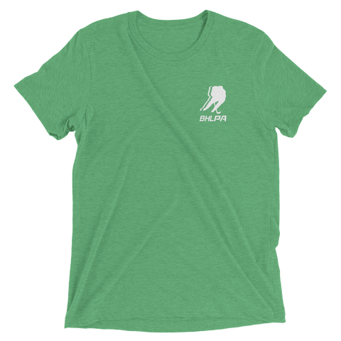 BHLPA Chest Logo T (Green/White)