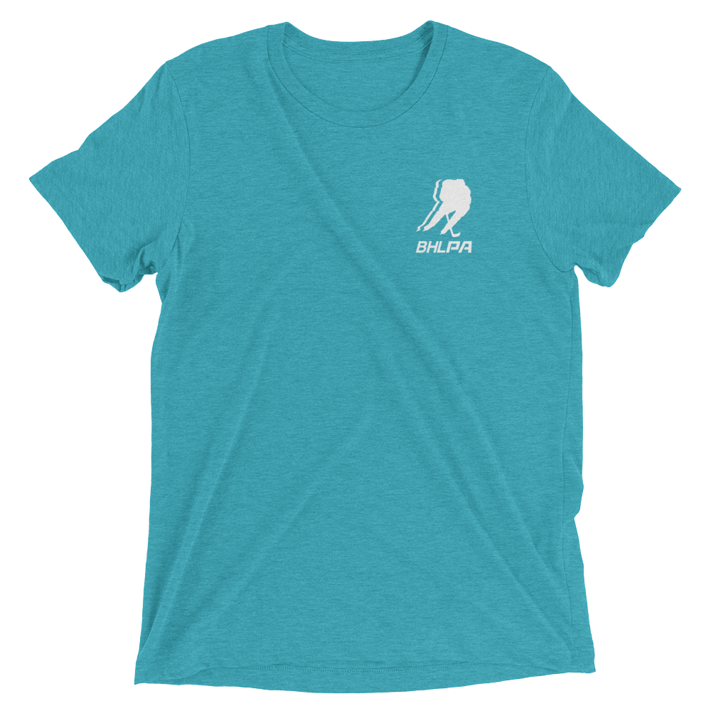 BHLPA Chest Logo T (Teal/White)