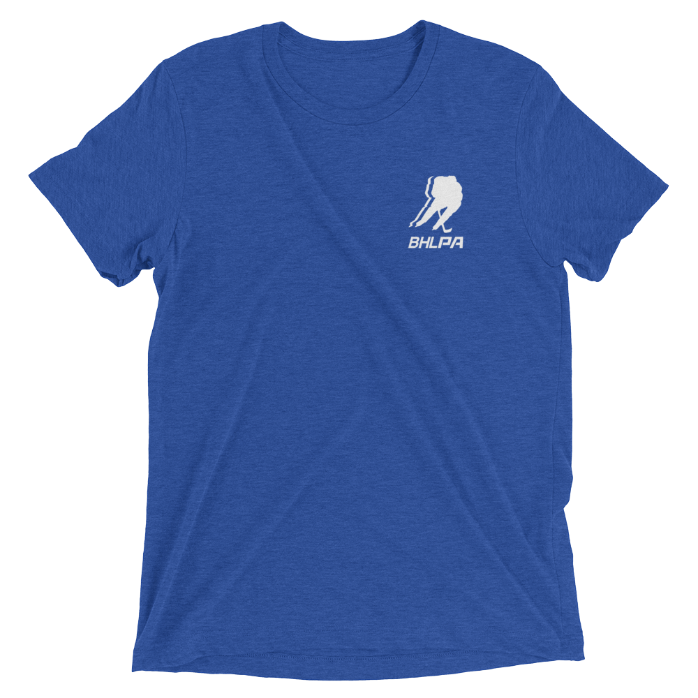 BHLPA Chest Logo T (Royal/White)