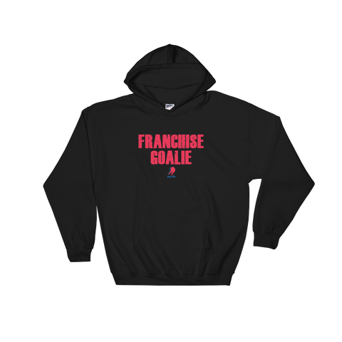 Franchise Goalie Pullover Sweatshirt (Black)