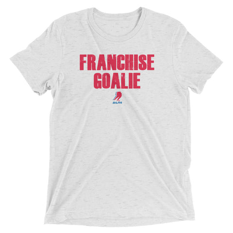 Franchise Goalie T (White)