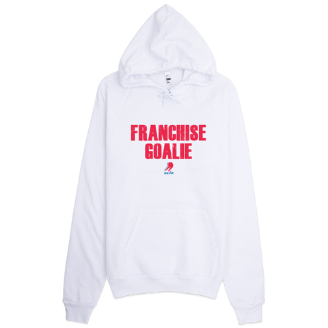 Franchise Goalie Pullover Sweatshirt (White)