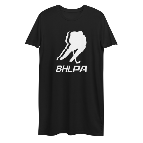 BHLPA Women's T-Shirt Dress (Black)