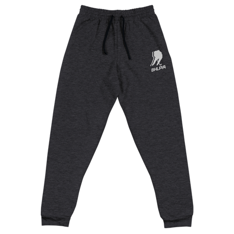 BHLPA Logo Jogger Pants (Black Heather)