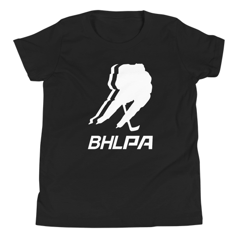 BHLPA Logo Youth T-Shirt (Black/Gray/Red/Blue/Green)