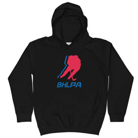 BHLPA Logo Youth Hoodie (Black/Gray)