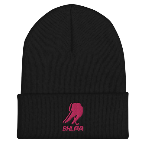 BHLPA Toque (Black/Pink)