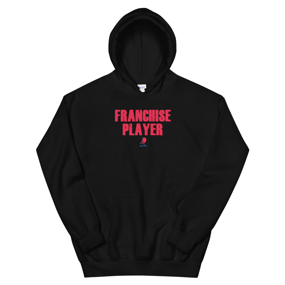 Franchise Player Pullover Sweatshirt (Black and White)