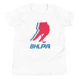 BHLPA Logo Youth T-Shirt (White/Heather)